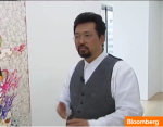 Takashi Murakami on Bloomberg TV
