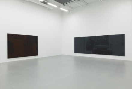 Troy Brauntuch (Installation View), via Petzel Gallery