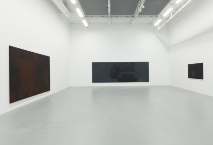 Troy Brauntuch, (Installation View), via Petzel Gallery