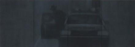 Troy Brauntuch, State Trooper (2013), via Petzel Gallery