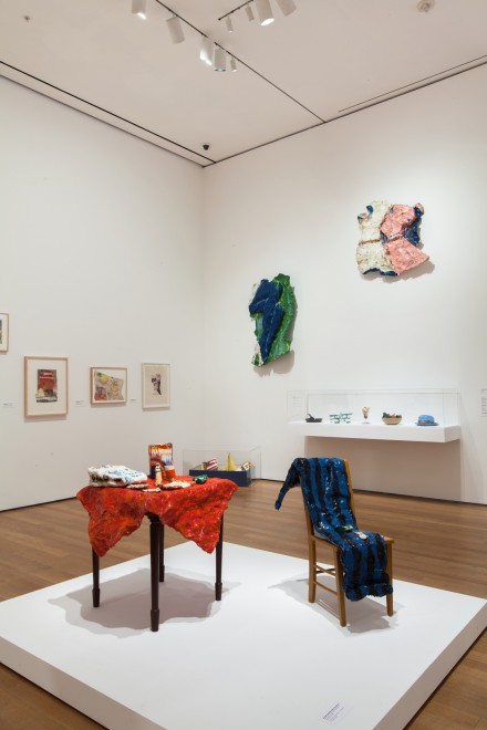 Claes Oldenburg (Installation view), Image courtesy of MoMa.