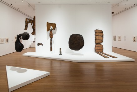 Claes Oldenburg, The Street (Installation view), Image courtesy of MoMa.
