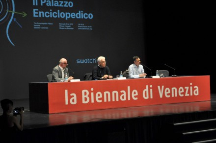 The Opening Reception, with Paolo Barata and Massimo Gioni