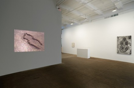 Ana Mendieta, Late Works (Installation View), via Galerie Lelong