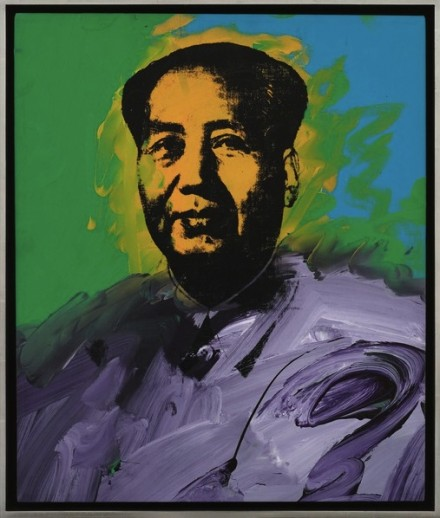 Andy Warhol, Mao (1973), via Art Basel
