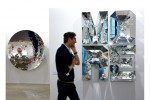 Anish Kapoor and Doug Aitken at Regen Projects, via the Wall Street Journal