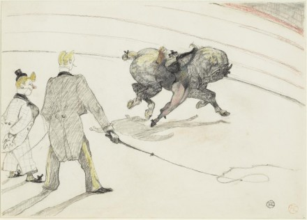 Henri de Toulouse-Lautrec, At the Circus: Acrobats  (1899), courtesy The Frick Collection