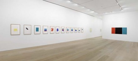 Blinky Palermo, Works on Paper (Installation View), via David Zwirner
