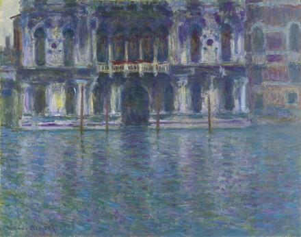 Claude Monet, Le Palais Contarini (1908), via Sotheby's
