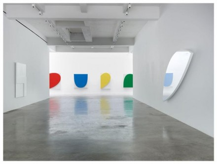 Ellsworth Kelly, At Ninety (Installation View), via Matthew Marks Gallery