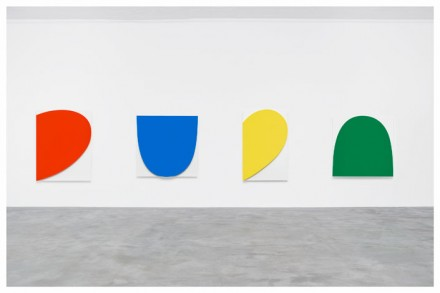 Ellsworth Kelly, Curves on White (Four Panels) (2011), via Matthew Marks Gallery
