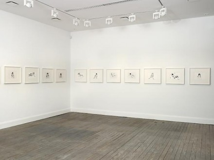 Tracey Emin, I Followed You to the Sun (Installation View), via Lehmann Maupin