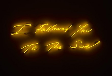 Tracey Emin, I Followed you to The Sun (2013) via Lehman Maupin