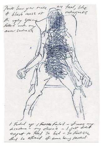 Tracey Emin, That's how you make me Feel (2012), via Lehmann Maupin