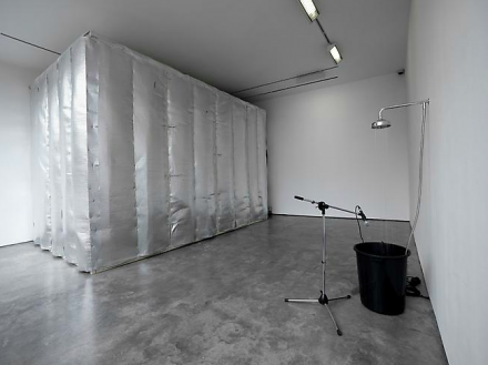 Haroon Mirza, Pavilion for Optimisation (2013), via Lisson Gallery