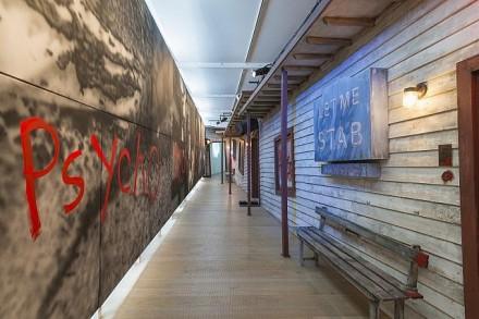 James Franco, Psycho Nacirema, (Installation view), courtesy Pace London