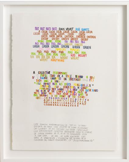 Jean Dupuy. Elle aimait bien les frites, Margueri.i.te (1985-2013), via Galerie Louevenbruck