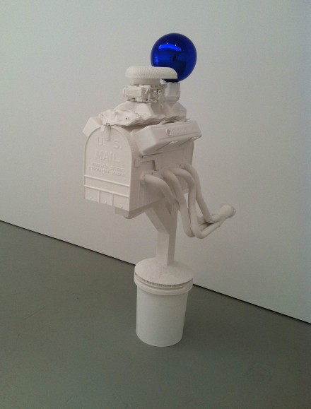 Jeff Koons, Gazing Ball (Mailbox), (2013), via Daniel Creahan for Art Observed