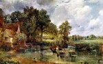 John Constable, The Hay Wain (1821), via The Telegraph