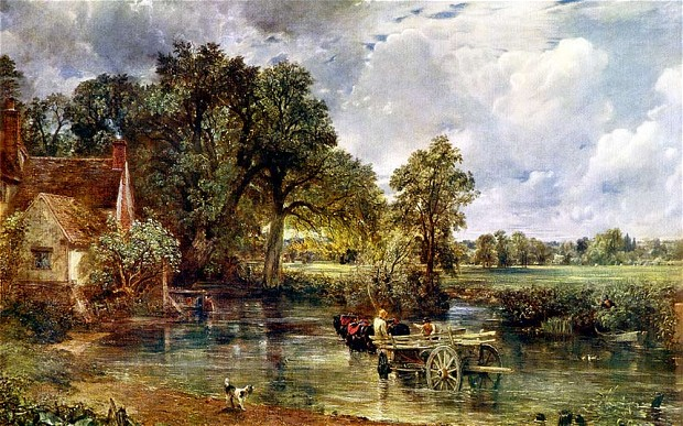 John Constable The Haywain » Constable's �...
