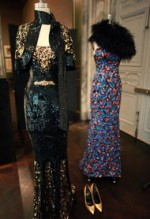 L'Wren Scott's Klimt-inspired designs, via New York Times