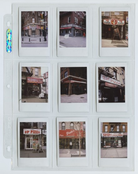 Lucien Smith, Untitled (Pizzerias 001), (2013) Photos by Matthu Placek. Courtesy The Suzanne Geiss Company