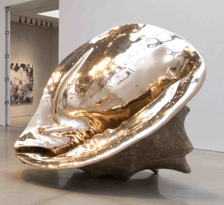 Marc Quinn, Map of the Space-Time Continuum (2013), via Mary Boone