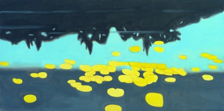 Alex Katz, Homage to Monet 7 (1999), courtesy MdM Mönchsberg