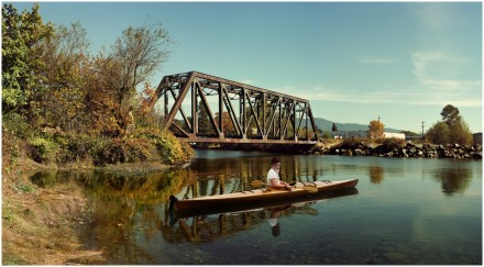 Rodney Graham, Paddler, Mouth of the Seymour (2012-2013), via 303 Gallery