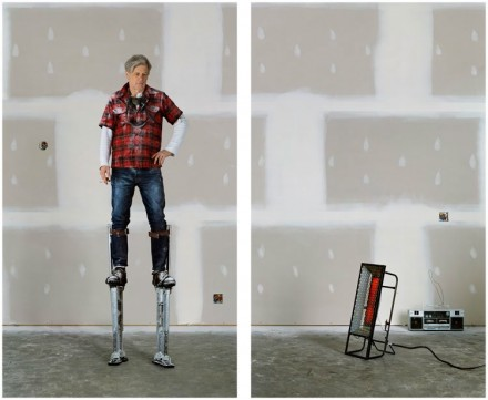 Rodney Graham, The Drywaller (2012), via Gallery 303