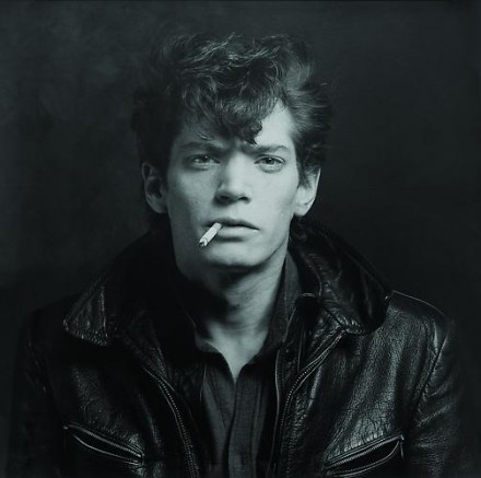 Robert Mapplethorpe, Self Portrait (1980), courtesy Skarstedt Gallery