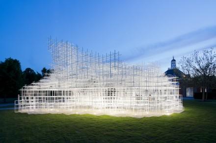 Sou Fujimoto's Serpentine Pavilion, via Serpentine
