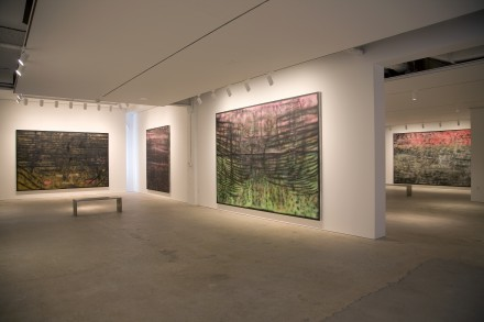 Sterling Ruby, SP Paintings (Installation View), courtesy Nahmad Contemporary