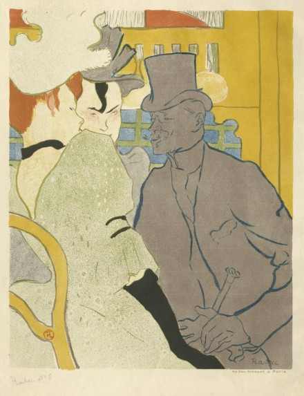 Henri de Toulouse-Lautrec, The Englishman at the Moulin Rouge (1892), courtesy The Frick Collection