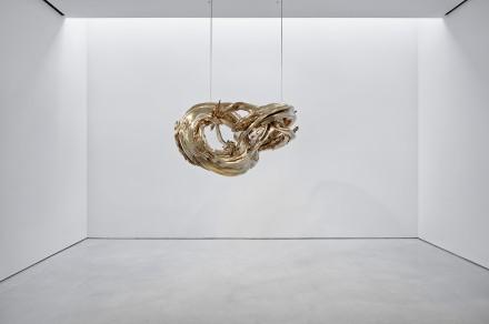 Wim Delvoye, Dual Möbius Quad Corpus, (2010), via Sperone Westwater