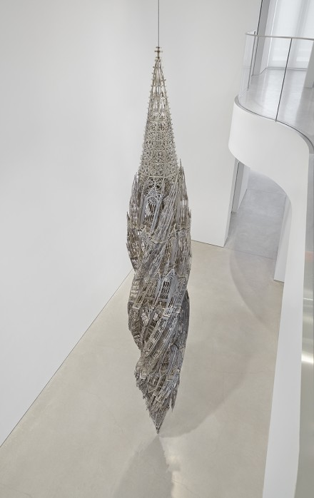 Wim Delvoye, Suppo, (2010), via Sperone Westwater