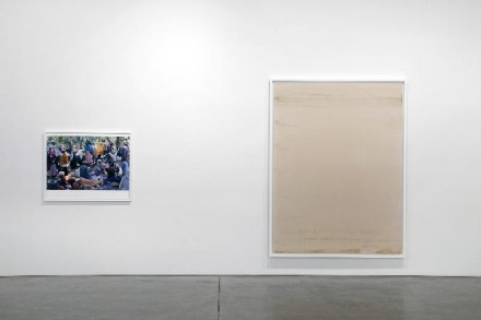 Wolfgang Tillmans, from Neue Welt (Installation View), courtesy Andrea Rosen Gallery