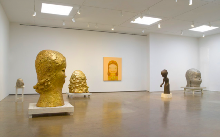 Yoshitomo Nara, (Installation View), via PACE Gallery