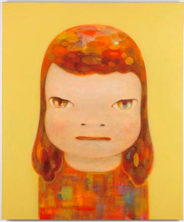 Yoshitomo Nara, Missed Autumn Rendez-Vous (2013), via PACE Gallery