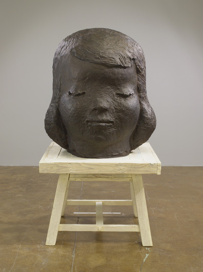 Yoshitomo Nara, When You Feel so Sad (2012), via PACE Gallery