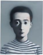 Zhang Xiaogang's Boy (Bloodline Series), via Jing Daily