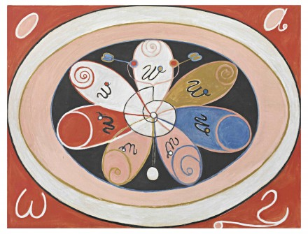 Hilma af Klint, Untitled (no date), courtesy Hamburger Bahnhof