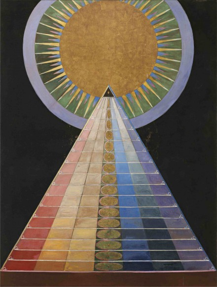 Hilma af Klint, Altar Painting (1915), courtesy Hamburger Bahnhof