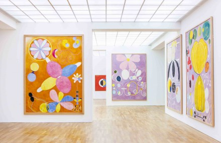 Hilma af Klint: A Pioneer of Abstraction (Installation View), courtesy Hamburger Bahnhof