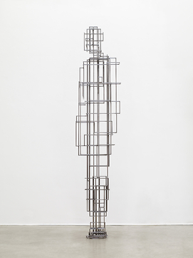 Antony Gormley, Course (2010), via Thaddeus Ropac
