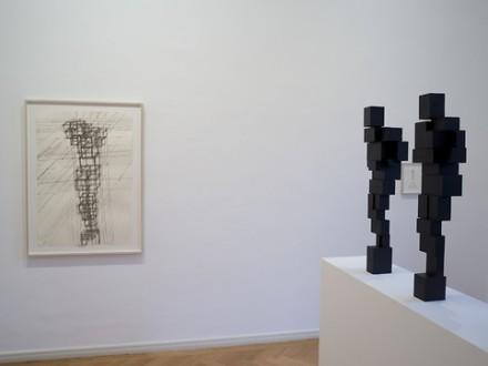Antony Gormley, Meter (Installation View), via Thaddeus Ropac