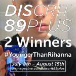 DIS Crit #YoungerThanRihanna Poster, via DIS