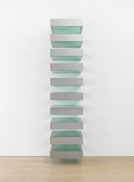 Donald Judd, Untitled (Bernstein 89-1) (1989), via David Zwirner