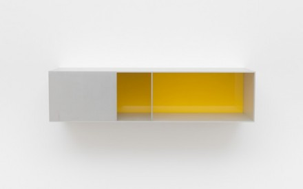 Donald Judd, Untitled (Menziken 91-141) (1991), via David Zwirner