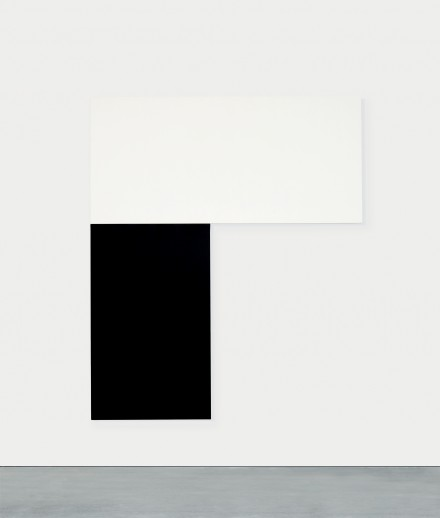 Ellsworth Kelly, Chatham I White Black (1971), Courtesy of MoMA